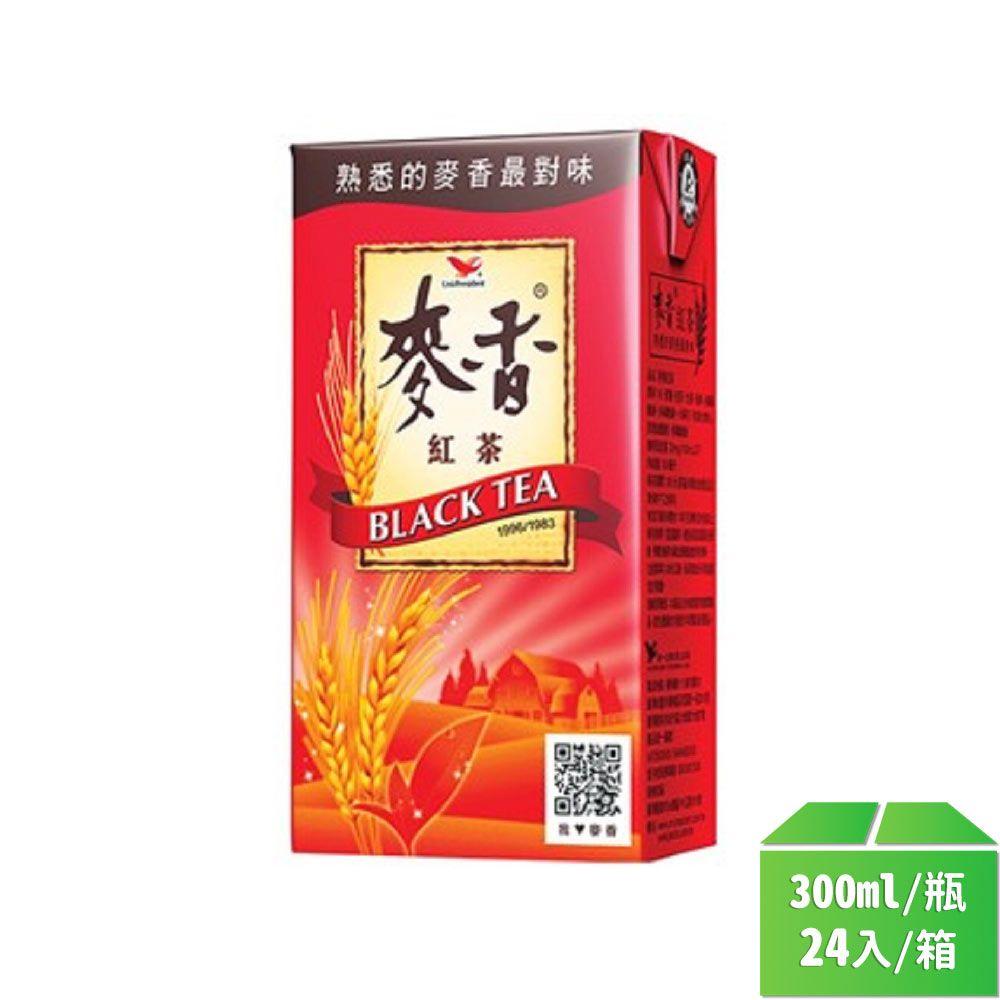統一-麥香紅茶300ml/瓶24入/箱