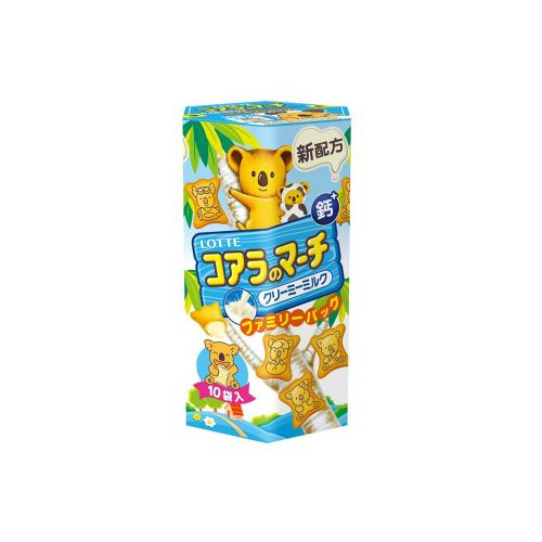 樂天家庭號牛奶小熊餅乾-10袋/盒