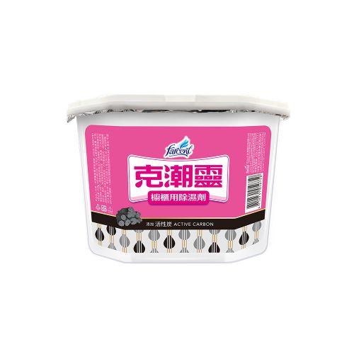 克潮靈備長炭除濕劑(400ml*4)/盒