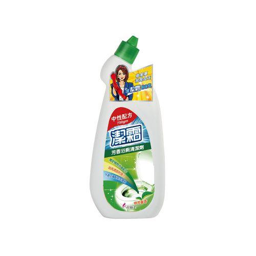 潔霜芳香浴廁清潔劑750g-綠茶馨香/瓶
