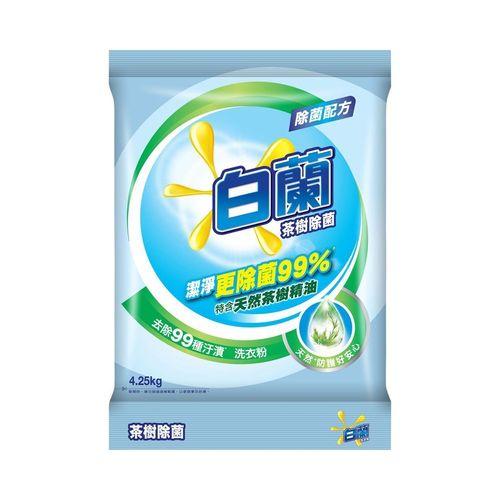 白蘭-茶樹除菌洗衣粉4.25kg/包