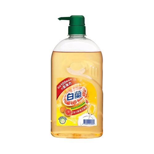 白蘭-全新動力配方鮮柚洗碗精1kg/瓶