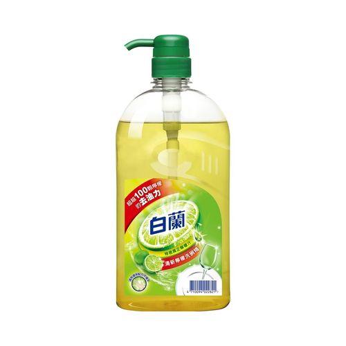 白蘭-全新動力配方檸檬洗碗精1kg/瓶