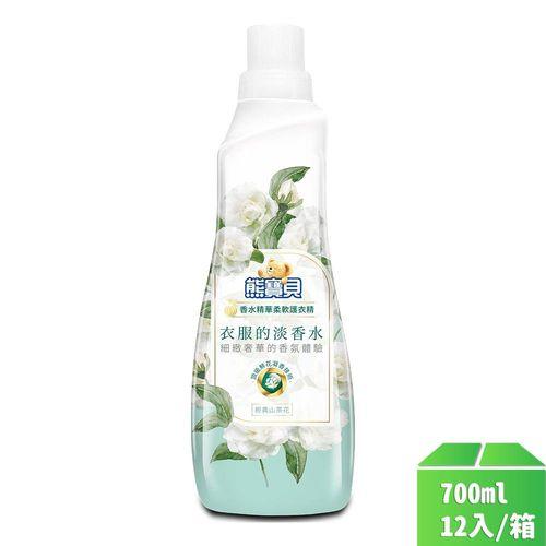 熊寶貝-香水精華護衣精經典山茶花700ml/瓶12入/箱