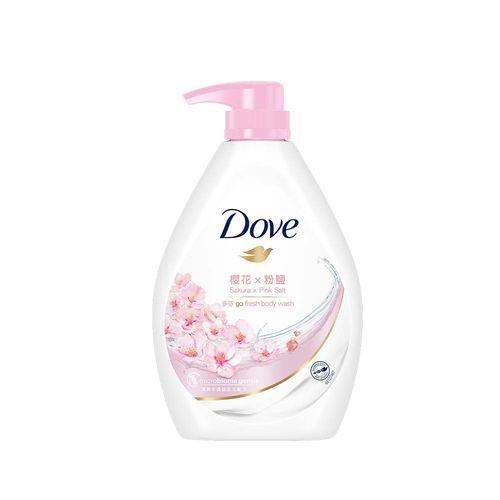 多芬-櫻花香氛沐浴乳1000ml/瓶