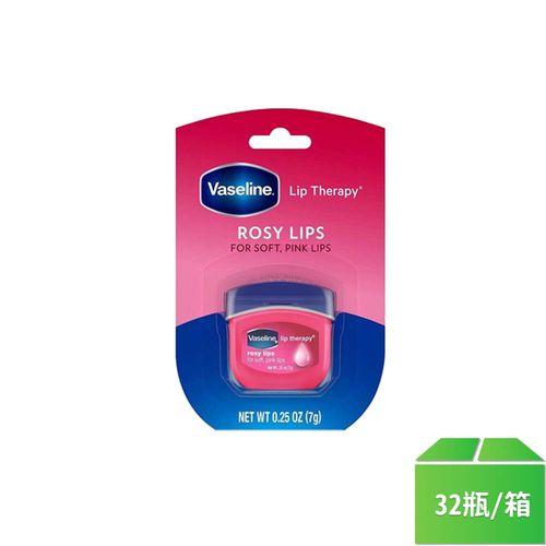 凡士林-玫瑰瓶裝護唇膏0.25oz/瓶32入/箱