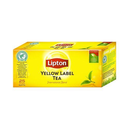 立頓-黃牌精選紅茶2gx25入/盒