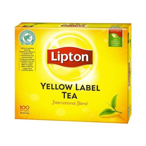 立頓-黃牌精選紅茶2gx100入/盒
