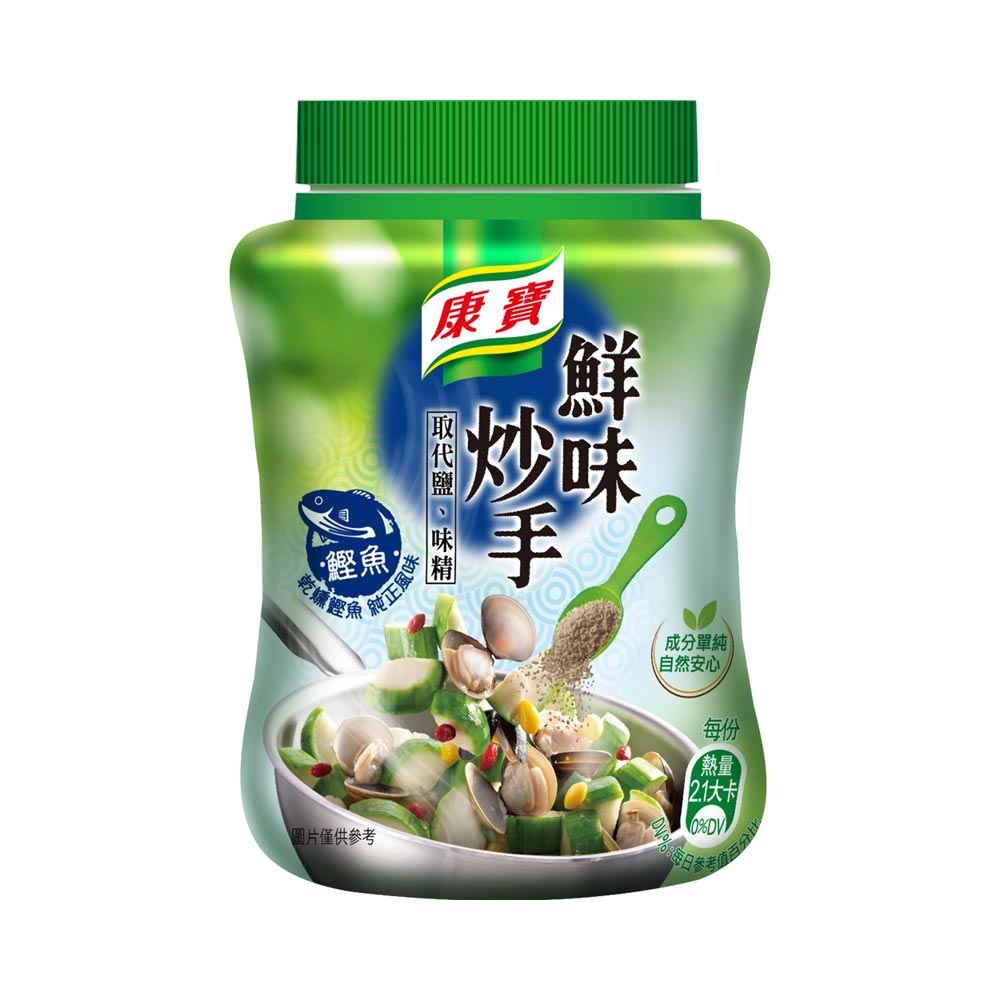 康寶-新鮮味炒手鰹魚240g/瓶