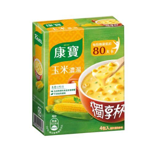 康寶-獨享杯-#1奶油玉米72g/盒