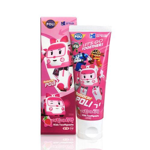 波力-兒童牙膏(草莓口味)80g/條