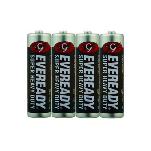永備-碳鋅黑金鋼4號電池4顆/包