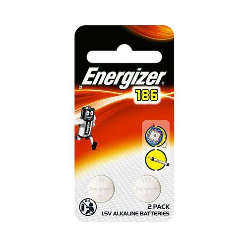 勁量-1.5V鈕扣型鹼性電池(186/LR43)2顆/卡