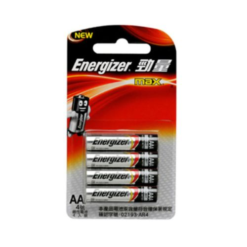 勁量-鹼性4號電池4顆/卡