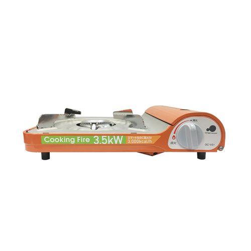 卡旺-格林伍德gCVS1(D)P攜帶式卡式爐橘/台