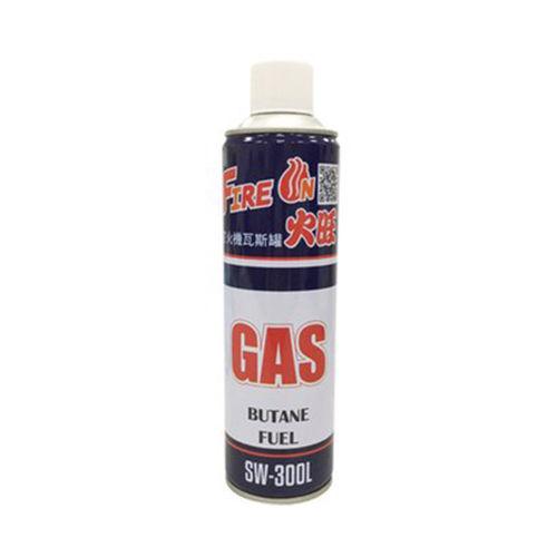 火旺-打火機瓦斯罐(大)300g/瓶