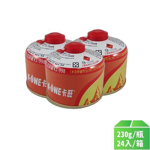 卡旺-高山瓦斯罐230g/瓶24入/箱