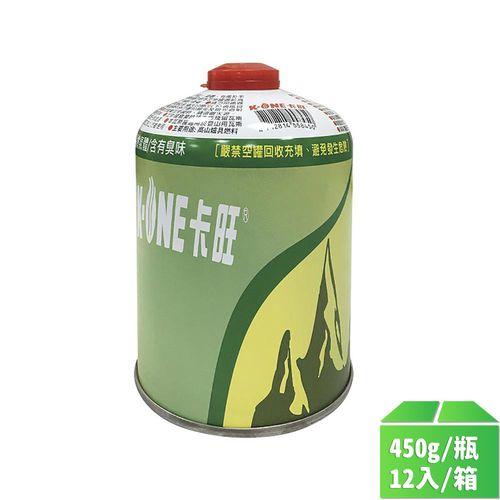 卡旺-高山瓦斯罐450g/瓶12入/箱