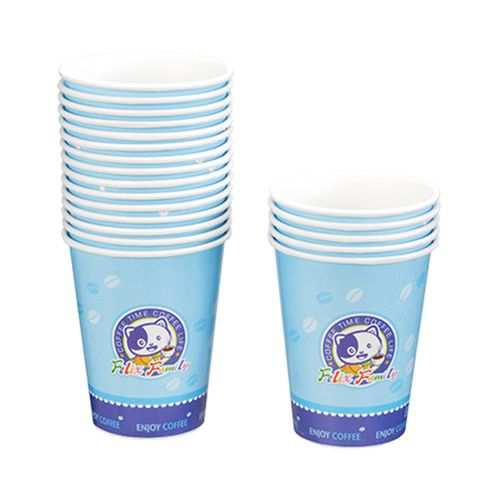 菲力家族-環保咖啡杯270CC20入/條