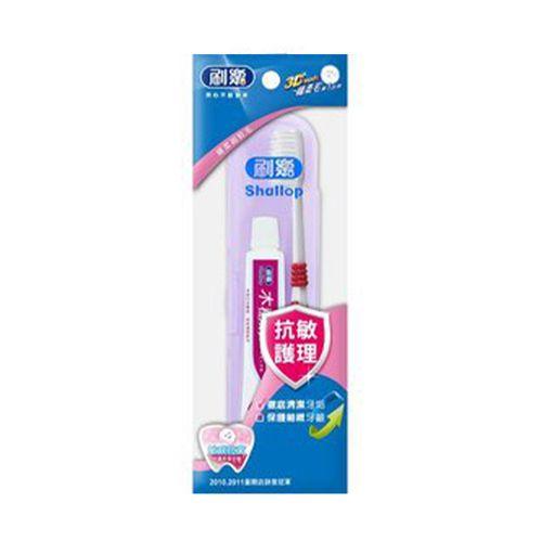 刷樂-成人保健潔牙組(牙刷+牙膏)/盒