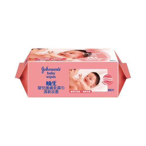 嬌生-嬰兒經典香護膚柔濕巾80片/包