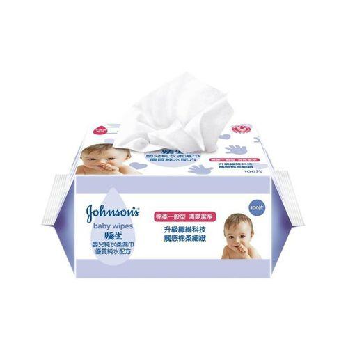 嬌生-嬰兒一般純水柔濕巾100片x3入/組