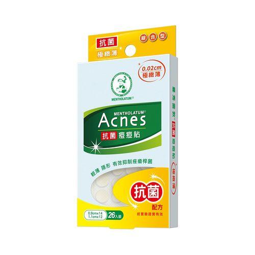 曼秀雷敦-Acnes極薄抗菌痘痘貼(綜合型26片)/卡
