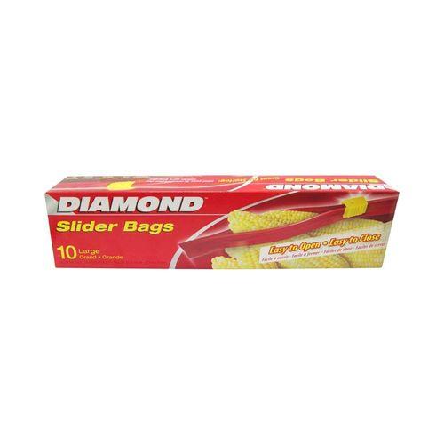 鑽石牌-夾鏈袋27.9cm大(10入)/盒
