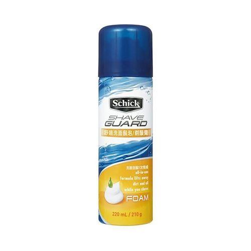 舒適牌-洗面鬍泡210g/瓶