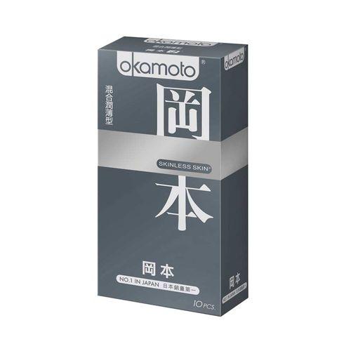 岡本OK-skinless混合潤薄10入/盒