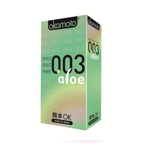 岡本OK-003ALOE蘆薈6入/盒