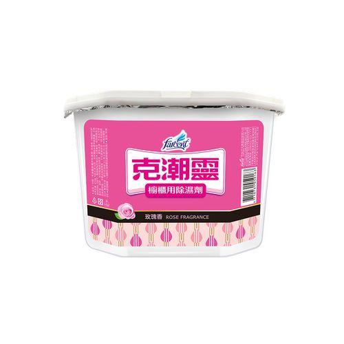 克潮靈除濕劑400ml*4-玫瑰香/盒