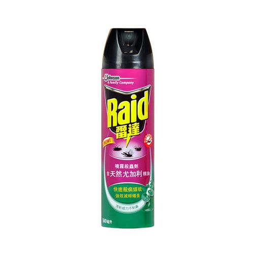 雷達-噴霧殺蟲劑-尤加利500ml/瓶