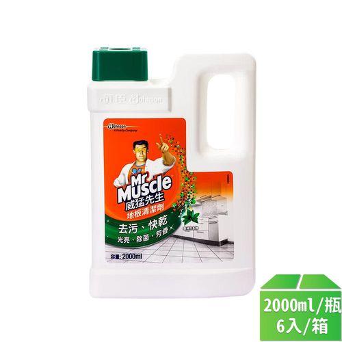 威猛先生-愛地潔地板清潔劑(芬多精)2000ml/6入/箱