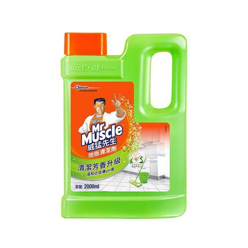 威猛先生-地板清潔劑(清新早晨)2000ml/瓶
