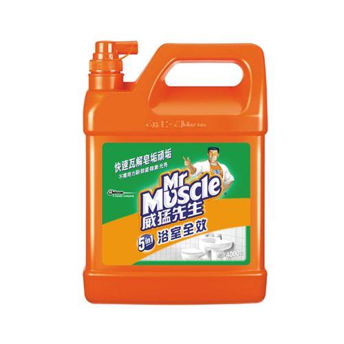 威猛先生-浴室清潔劑1GAL/瓶