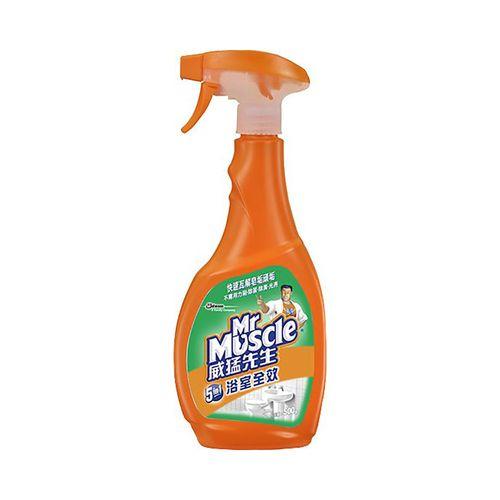 威猛先生-浴室清潔劑噴槍瓶500g/瓶
