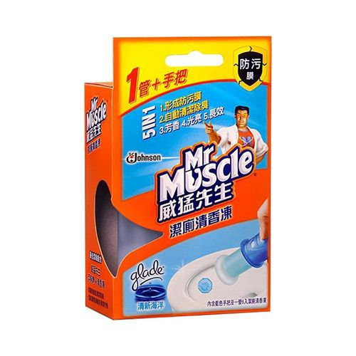 威猛先生-潔廁清香凍組-清新海洋38g(1+1把)/盒