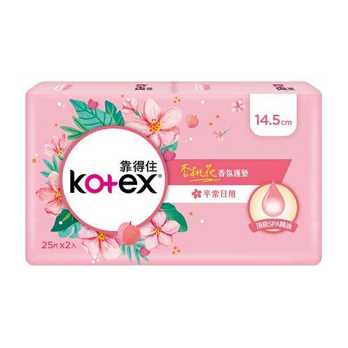 靠得住-安全瞬吸護墊沐浴香氛14.5cm(30片x2入)/組