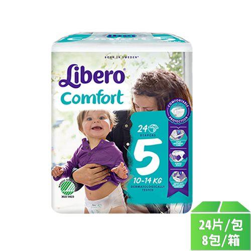 麗貝樂嬰兒尿褲L號24片-8包/箱