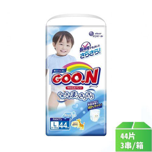 大王-境內版褲型紙尿褲(男)L號44片x3串/箱