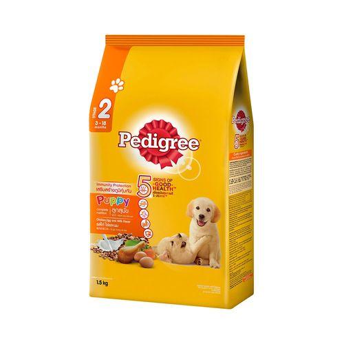 寶路-乾糧幼犬專用配方 雞肉奶蛋口味1.5kg/包