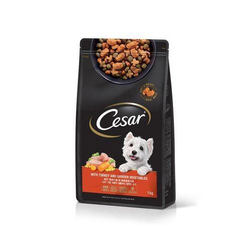西莎-低脂火雞與高纖蔬菜 1kg/包