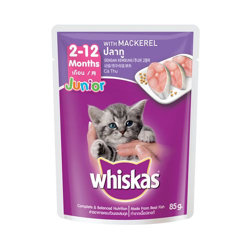 偉嘉-妙鮮包幼貓專用鯖魚85g/包