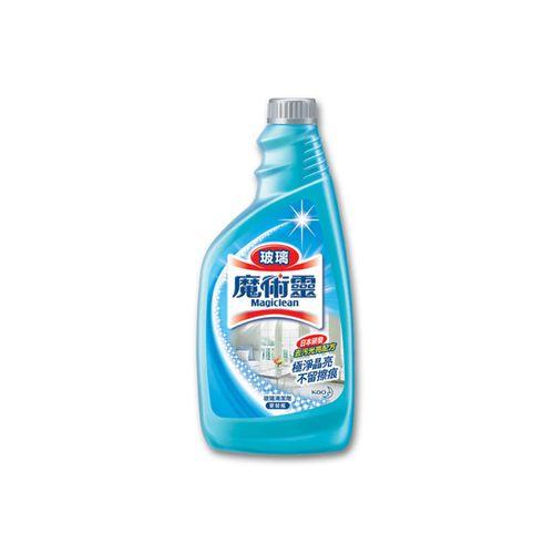 【魔術靈】玻璃清潔劑更替瓶500ml/瓶