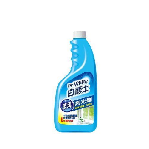 【白博士】玻璃清潔劑重裝瓶600ml/瓶