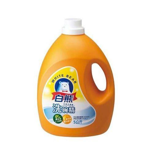 【白熊】軟性洗碗精5kg/瓶