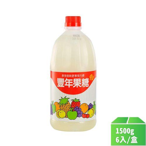 豐年-果糖(大)1500g/瓶6入/箱