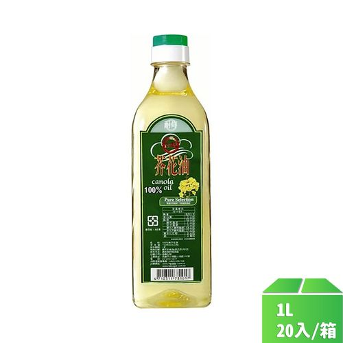 台糖-芥花油1L/瓶20入/箱