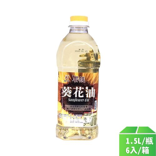 北斗-葵花油1.5L/瓶6入/箱